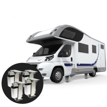 TESA Autolift levelingsysteem 4 steunpoten