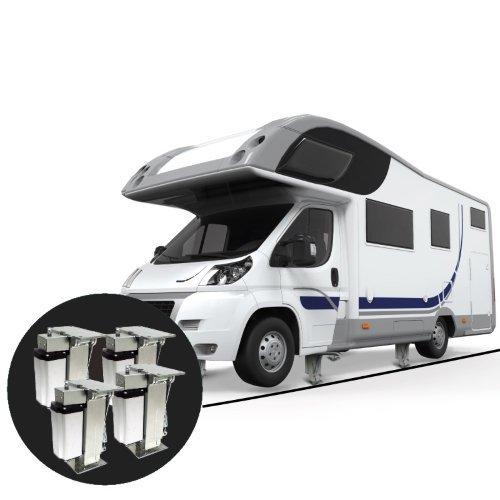 TESA Autolift levelingsysteem 4 steunpoten AUTOMATISCH CAMPER LEVELSYSTEEM
